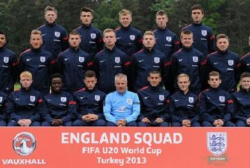 Selección inglesa sub-20