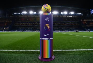 La Premier League tuvo su nuevo fin de semana de Rainbow Laces