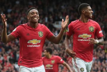 Rashford y Martial