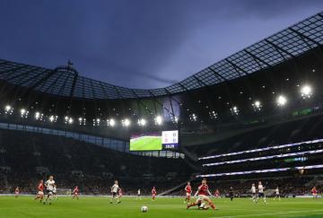 Tottenham Hotspur Stadium, récord de asistencia de la temporada