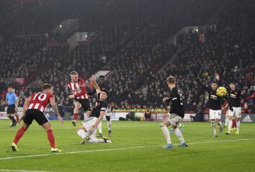El Sheffield United rescató un punto de un loco partido