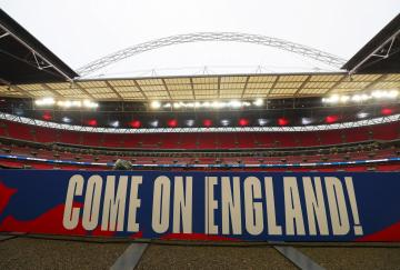 Wembley se prepara para albergar a Inglaterra