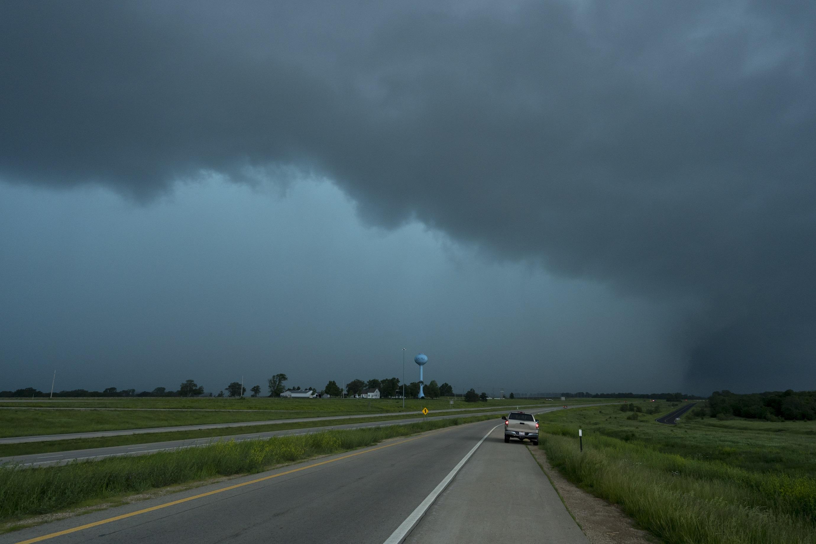Un tornado cerca de Kansas City