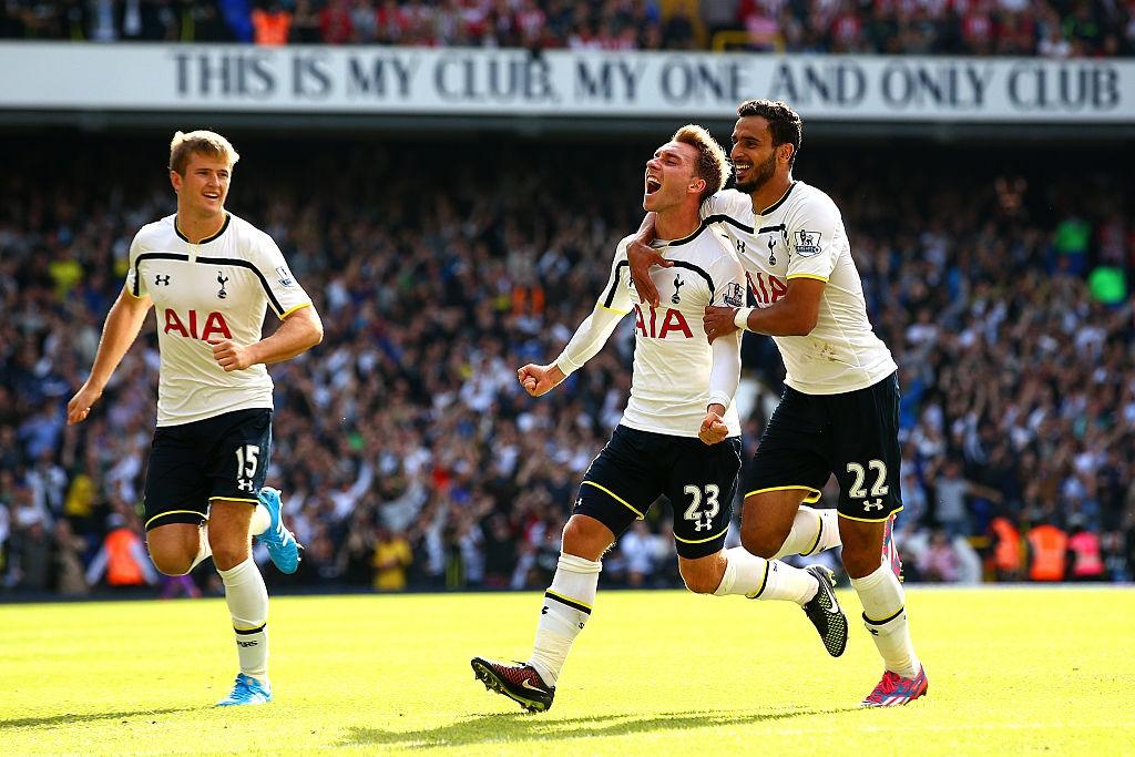 Eriksen creció en el Tottenham de la mano de Mauricio Pochettino. / Getty Images