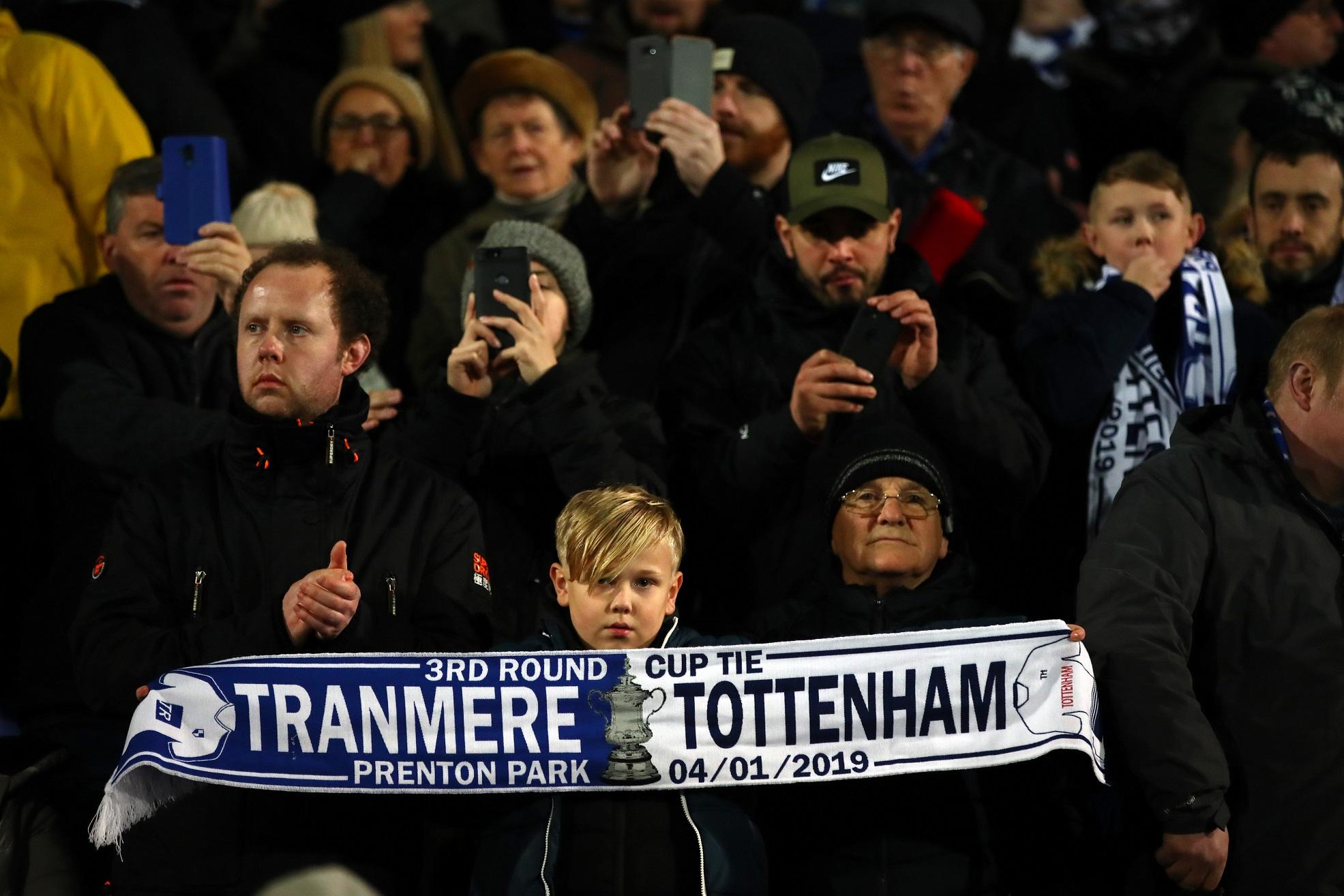 Tranmere-Tottenham