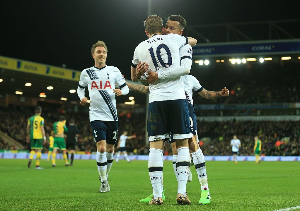 El exponencial ascenso del nivel de Erisen, Alli y Kane fue trascendental en la llegada de Pochettino al Tottenham. / Getty Images