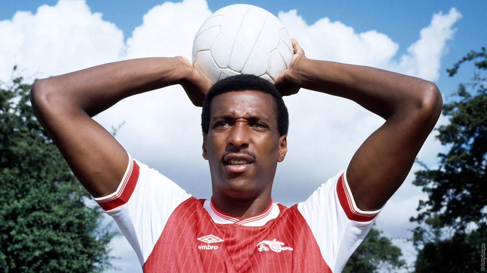 Viv Anderson. / Arsenal