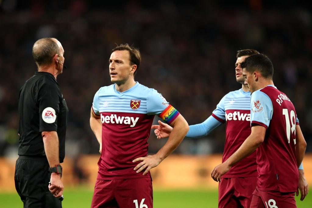 Ante la falta de comandancia desde las altas estancias del club, Noble se ha convertido en la voz del West Ham. / Getty Images