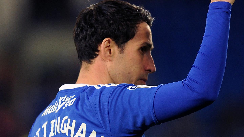 Peter Whittigham se mantuvo en el Cardiff City tres temporadas más tras descender a Championship. / Cardiff City