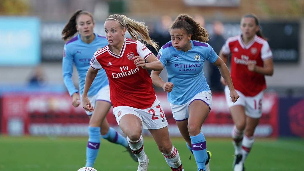 El Arsenal venció al Manchester City en un partido disputado. / Arsenal Women