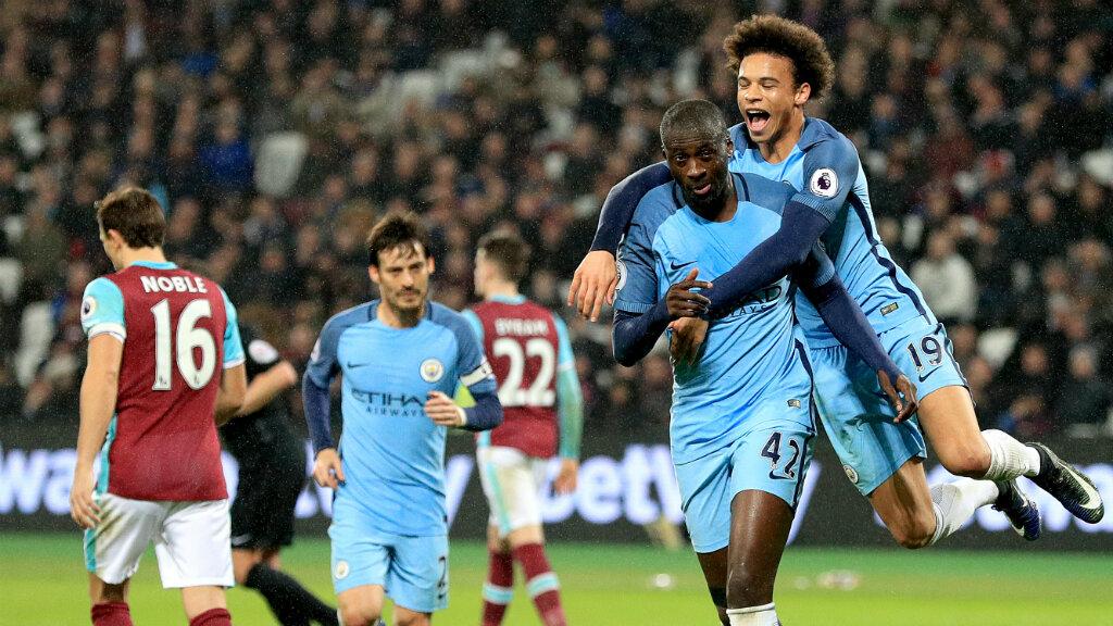 Yaya Toure. / Manchester City
